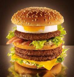 Le mega tomago de Mc Donald Japon : j'ai mangé le modèle réduit et ça dépote !