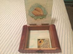 Inside of prayer box for her daughter, inspired by the book, The Prayer Box by Lisa Wingate. #prayerbox #pray #faith #inspirtion #read #books