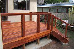 Modern Deck and Deck Railing Ideas 07