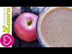 Jugo para el estreñimiento♥Licuado de manzana con ciruela♥Licuado para la postmenopausia - YouTube