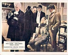 FRANKENSTEIN CREATED WOMAN PETER CUSHING THORLEY WALTERS HAMMER LOBBY CARD UK @ niftywarehouse.com #NiftyWarehouse #Frankenstein #Halloween #Horror #HorrorMovies #ClassicHorror #Movies
