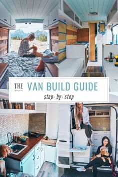 Everything you need to know for your build. Tiny House Movement // Tiny Living // Van Conversion // Van Life Movement // Van Living // Tiny Home // Architecture // Home Decor Van Conversion Guide, Diy Van Conversions, Camper Van Conversion Diy, Van Conversion Step By Step, Van Conversion Layout, Ford Transit Conversion, Sprinter Van Conversion, Camping Ideas, Camping Hacks