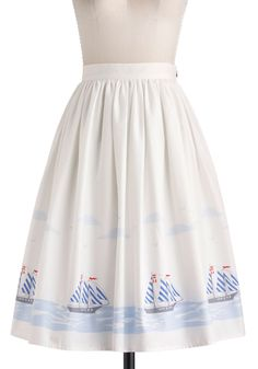 Home Sweet Helm Skirt | ModCloth.com  My Fabric for Modcloth! #sarahjane