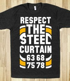 Get your sport spirit on vintage style with this vintage steelers shirt! Respect the steel curtain! #steelers #football #sports