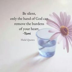 Only Allah can remove burdens of your heart....