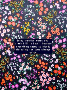 iPhone 5 quote background floral