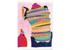 A2 Poster Noëlle Smit 'Kleine Prinzessin' KEK Amsterdam | Kindershop Das Kleine Zebra