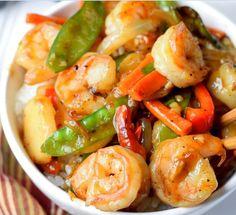 Shrimp with Hot Garlic Sauce | Food Recipes