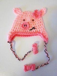 Pig beanie.