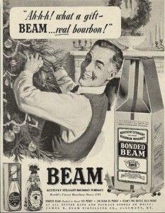 1950 Jim Beam #bourbon ad