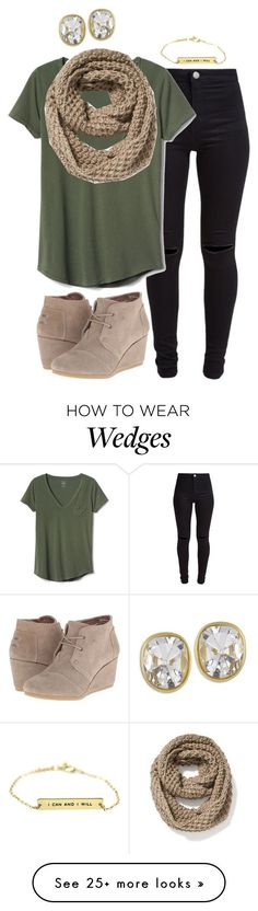 YES. I need an olive green shirt! I love the cut.   Wedges are pretty cute too. As long as it's a low heel (<1.5 in)