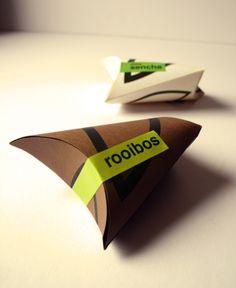 Tea Package by Ivana Jozeková, via Behance