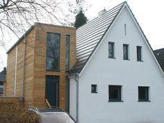 Zweigeschossiger Anbau - Erweiterung eines Siedlungshauses in Hamburg - marg miske architekten