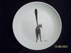 Dubout France Cat Butt Dinner Plate Editions Clouet Dinnerware Pattern