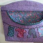 I really need a new clothespin bag:  joanne-threadhead.blogspot.com