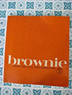 Vintage 1963 Brownie Handbook CUTE by dimestorechic on Etsy, $5.00