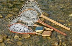 Bitterroot Nets Personalized custom Landing Nets and Fly Boxes Fly Fishing Net, Trout Fishing, Net Box, Landing, Boxes, Gallery, Wood, Unique, Diy