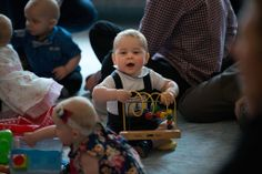 April 9, 2014:  Prince George and Kate attend a Plunket event at Government House, as part of their tour of New Zealand and Australia in Wellington, NZ.  This is Prince George's first official engagement.
