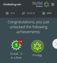 I like to unlock achievements