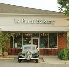 La Farm Bakery - Cary, NC: Authentic French Bakery & Cafe in Cary. I remember the first week it opened. I knew it would be a hit once I tried the Blueberry Scones. Years later they expanded to include a cafe. There never seems to be a day without a line out the door for their delicious pastries or food.