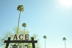 Ace Hotel, Palm Springs #california #travel