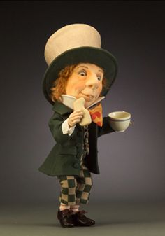 R. John Wright Presents: The Mad Hatter from the 'Alice in Wonderland' Collection - R. John Wright, Bennington, VT