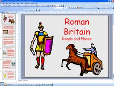 Roman Roads and Places
