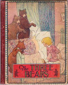The Three Bears by Margret Tarrant ~ 1920s