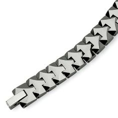 Chisel Polished Tungsten Carbide Bracelet - 8.75 Inches Chisel. $95.95. Save 50% Off!