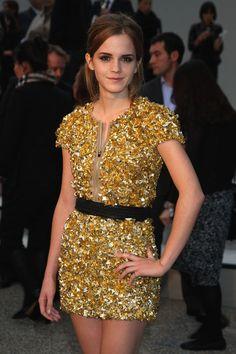 Emma Watson Photo - Burberry Show Red Carpet: Spring/Summer 2010 - London Fashion Week