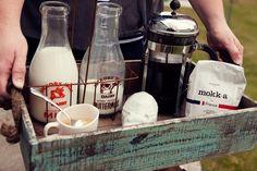A French Toast & Coffee Birthday Brunch.