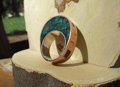 Buscar con Google Stone Jewelry, Diy Jewelry, Jewelry Rings, Silver Jewelry, Jewelry Making, Golden Design, Jewerly, Polymer Clay, Gemstone Rings
