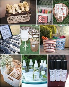 summer wedding ideas i just love the idea of having flipflops at the party!