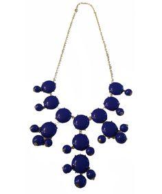 Blue bubble necklace #shoplately