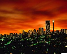 "Johannesburg ""The City of Gold"" - South Africa"