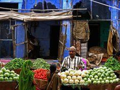 in the Jodhpur Market, Rajasthan , India #StoreExterior