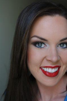 4th of July Makeup more makeup tutorials Makeup Geek, Love Makeup, Skin