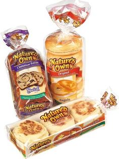Save $0.55 off Nature's Own Bread Coupon! ONLY  $1.63 @Walmart!