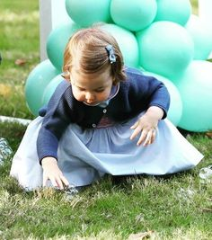 Princess Charlotte of Cambridge at a children's party for Military families during the Royal Tour of Canada on September 29, 2016 in Victoria, Canada. #princesscharlotte #royaltour2016 #canada #royalvisitcanada