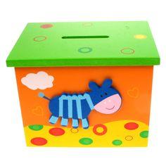 Money+Box+Ideas | kids money box, childs wooden money box, cow money box
