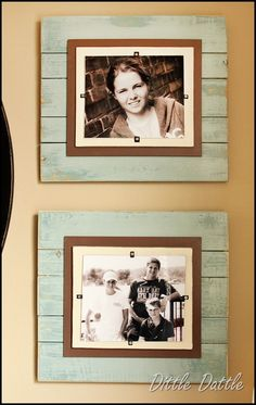 DIY frames - what to do with my leftover beadboard from our master bath re-model. waste not - want not!