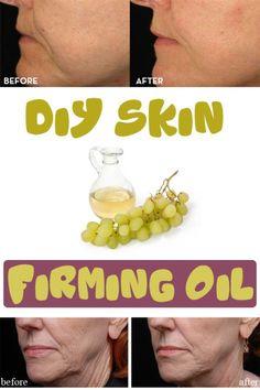 DIY Skin – firming oil - Beauty Tricks