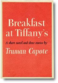 Breakfast at Tiffany's-this is how the cover looked when I first read this book.