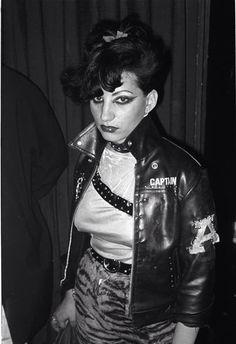 Punk Girl at The Vortex Club, 1977. Photo © Derek Ridgers.