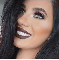 Kylie lip kit in true brown Pinterest: @JENNY