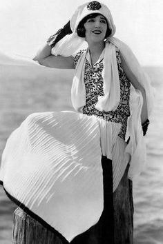 Prepare for exposed knees and short bobs as we take a look at the 50 most stylish women of the 1920s. From the smouldering Greta Garbo to the extravagant Gloria Swanson, see the stars who helped shape an important era.