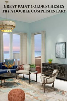 Great Paint Color Schemes- Try a Double-Complimentary | Northern Lights Home Staging and Design