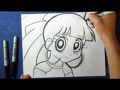 "Cómo dibujar a Bombon ""Super Poderosa Z"" | How to Draw bonbon - Super po..."