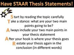 What is a Thesis Statement  free foldables and organizers SlideShare