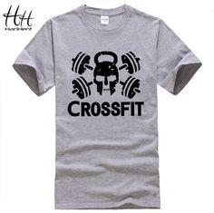 New Fitness Crossfit O-Neck Short Sleeve Training Shirts